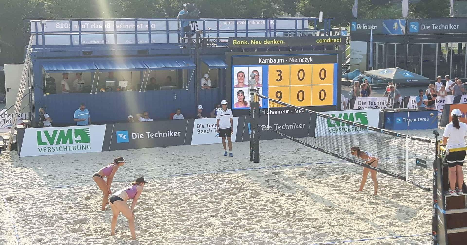 Beachvolleyball-Duo Holtwick / Semmler